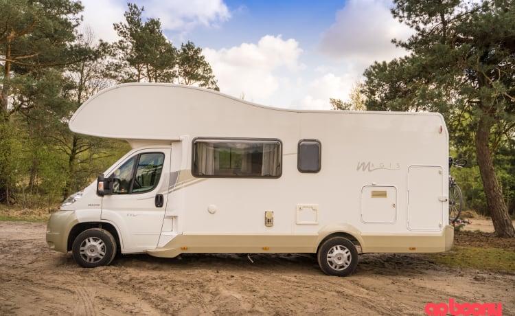 Mobilhome met 6 slaapplaatsen - Mijn thuis is waar mijn camper staat