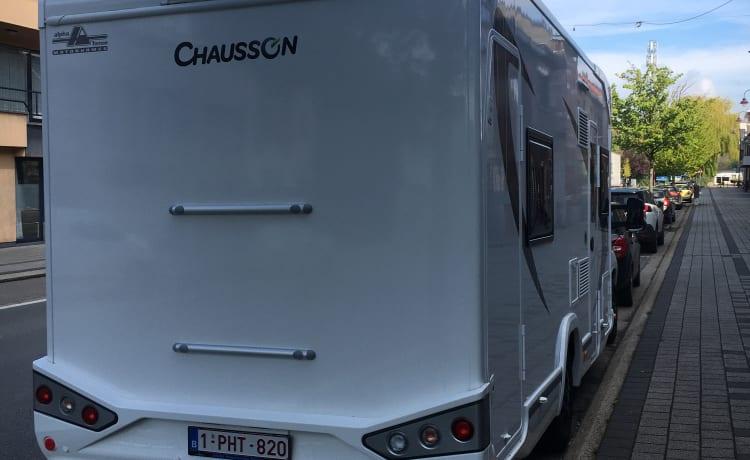 Chausson 716 VIP. Fiat.