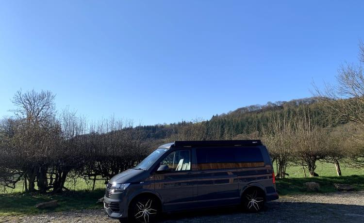 Luxe topklasse T6.1-campervan