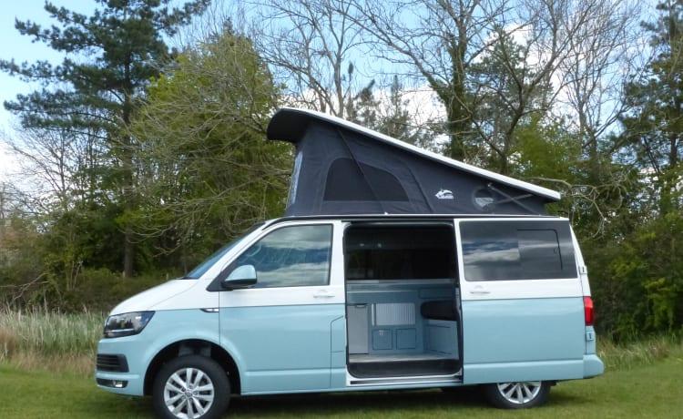 Skye – Luxe tweekleurige VW-camper