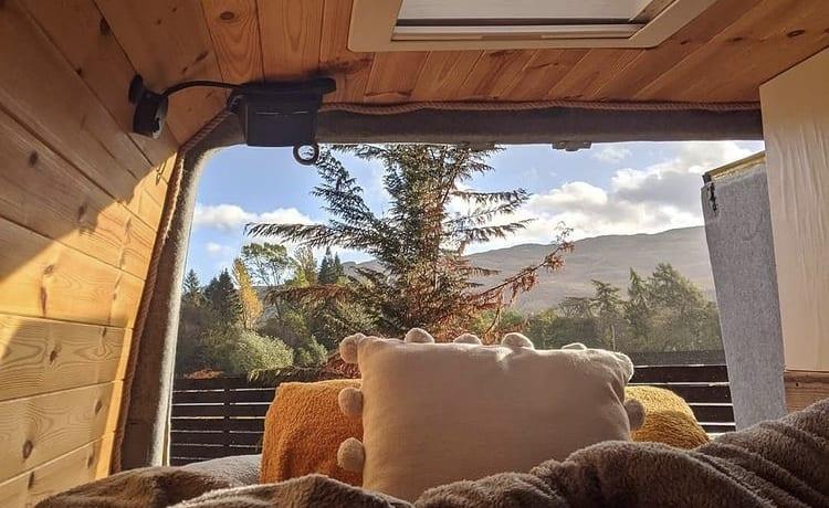 The Big Yellow Camper Van – Perfect Family Camper for Exploring in Comfort