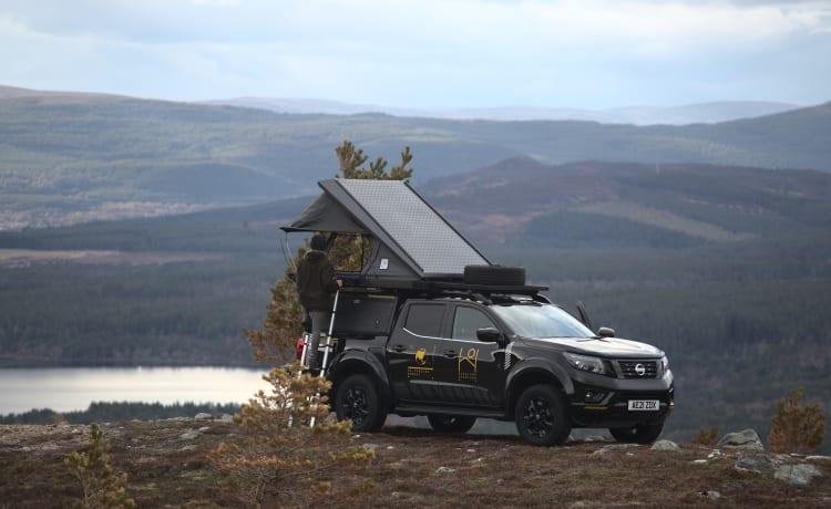 Highland Overland - Tenzing – Overland Trucks te huur in de Schotse Hooglanden (Inverness Airport)