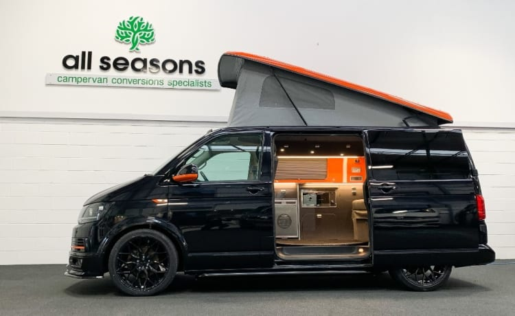 Florence – Camper di lusso VW T6 nel nord-est dell'Inghilterra