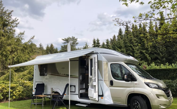 Bürstner Lyseo TD744 Privilège - model 2021