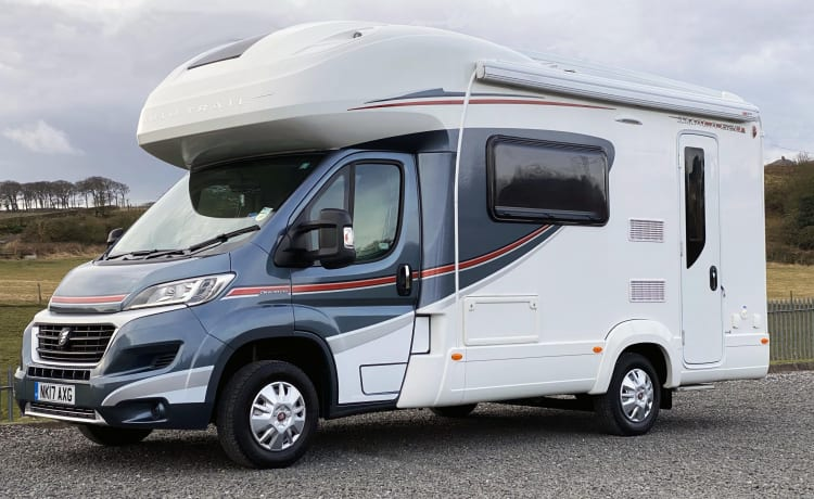 Riding Rambler  – Auto Trail Imala 620 carries 4 - perfect for a staycation adventure