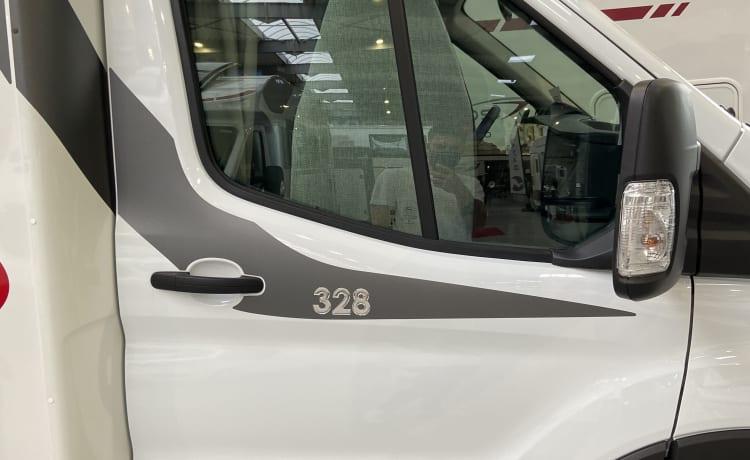 the happyhomecamper –  Prachtige Ford Challenger 2021     170PK