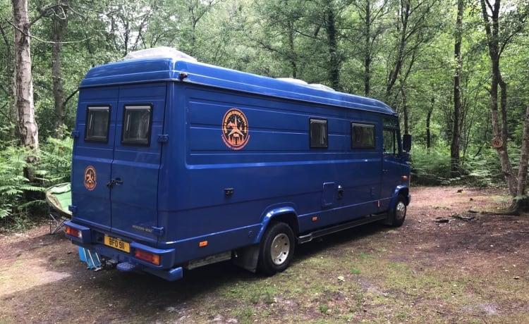 Big Blue – Classic Mercedes