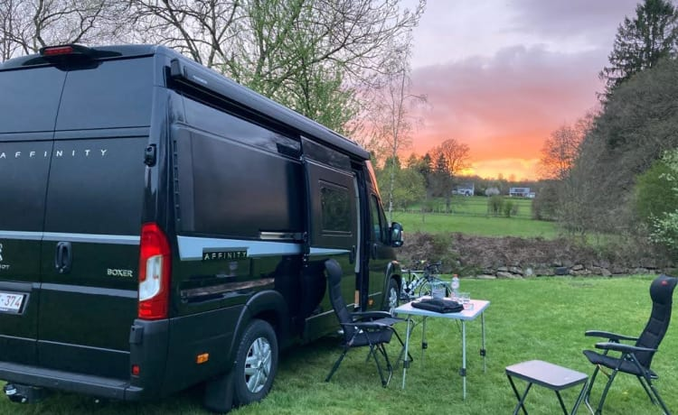 Finn de Campervan – Comfort, luxe & fun!