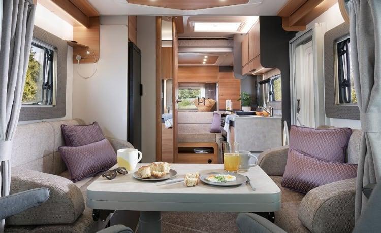 Bertie – Mooie, moderne camper, Bertie