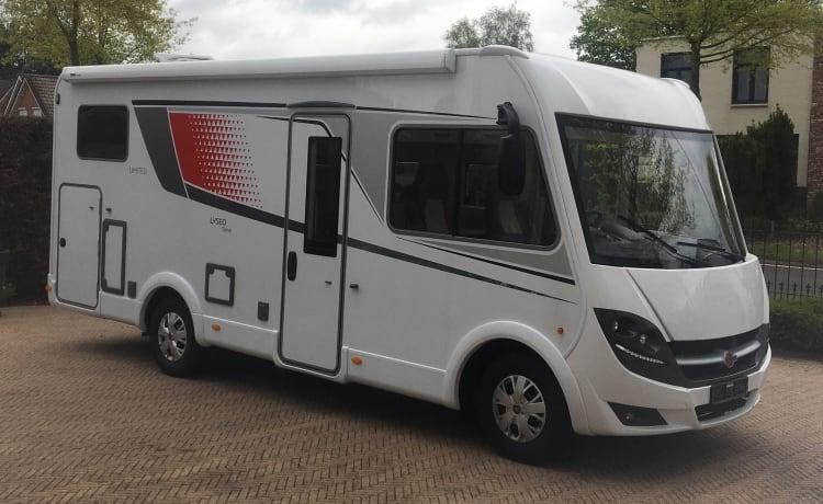 Burstner Camper Integraal Automaat XXL Garage luxe en nieuw!