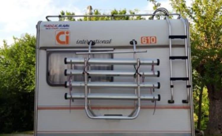 Svello – 6 persoons camper