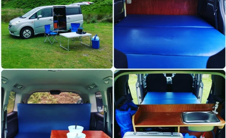 2 person Compact Campervan automatic