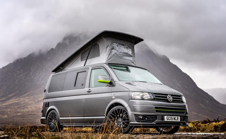 Rise Above Campers - Luxury Highline VW T5 Camper