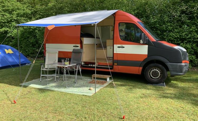 VW Crafter TDI – Moderne zelfbouw camper met karakter