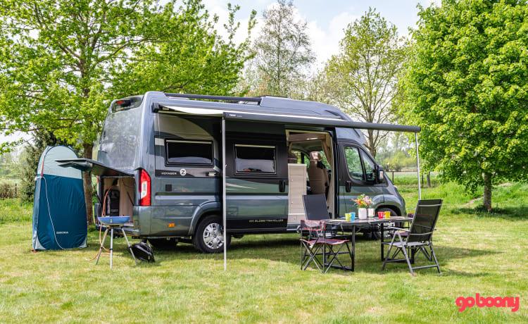Campervan 2020 voor 4 personen