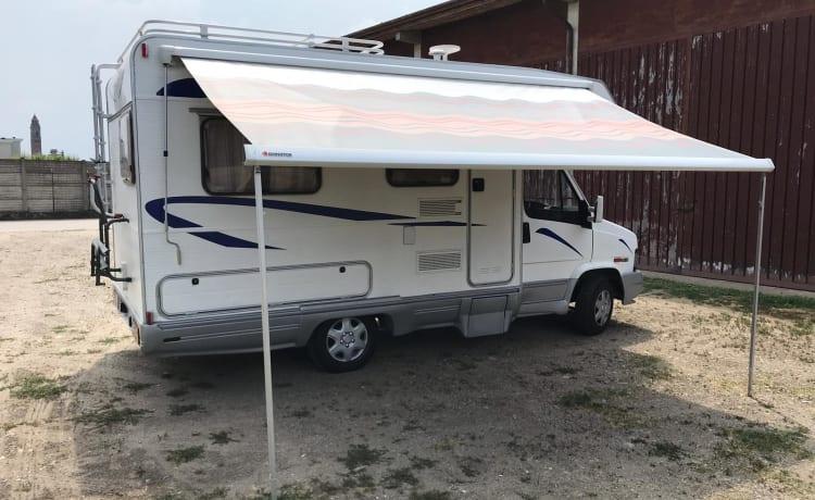 TexCo – Camper klaar vertrek viaaaa