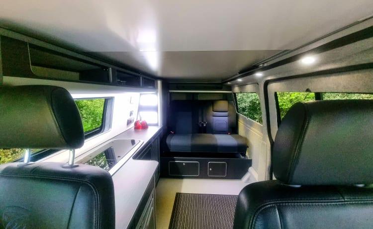 Monika – Vw Family T5 - LWB-campervan voor 4 personen