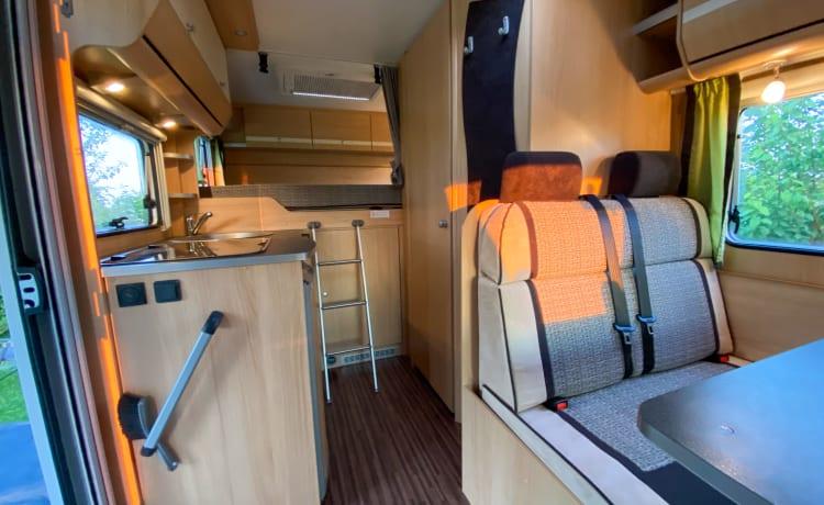 Ultiem vakantie gevoel in luxe Sunlight T57 camper