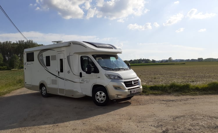 Family mobile home for 5 pers. with all comfort