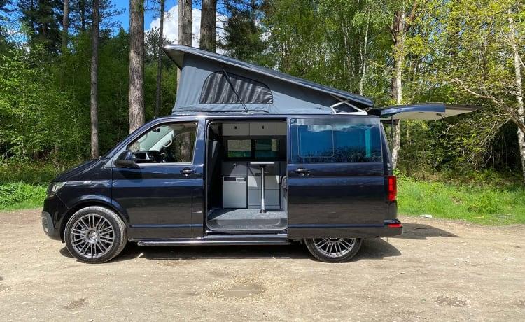 The New VW T6.1 Camper van - new