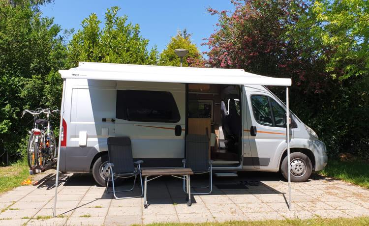 Bel camper autobus completo compatto!