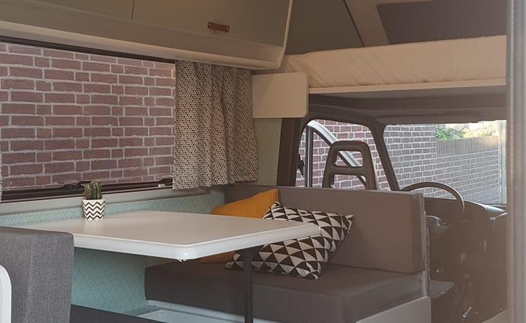 Willy – Gezellige en compacte camper met verrassend veel ruimte
