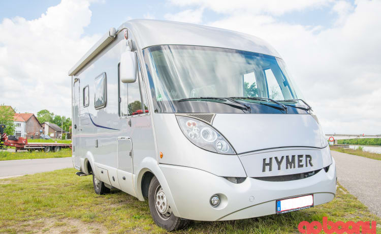 Hymer B 508 CL – Compact en zéér ruim binnen