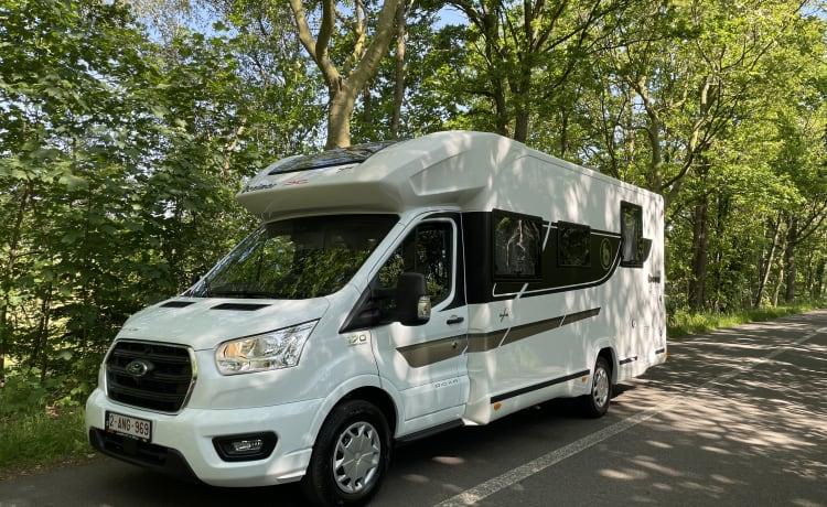 Camp AnnA – Nuovissimo (2021) Benimar Cocoon 497 Northautokapp