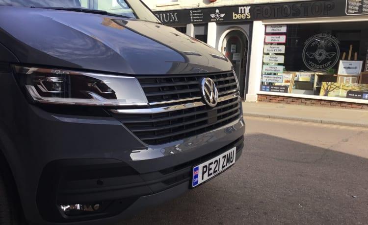 George – VW T6.1 - Luxe conversie uit 2021