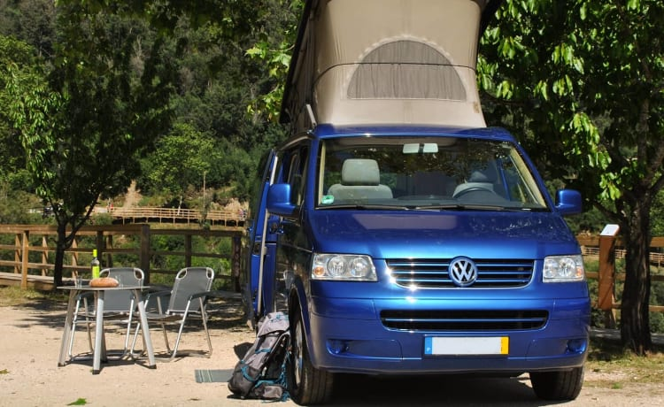 California Skyblue – Fly and Drive - Volkswagen motorhome | 4 persons | Lisbon, Portugal