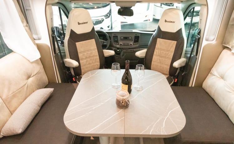 Bennytravelbuddy – Benimar Cocoon 497 Northautokapp, bouwjaar 2021 FULL OPTION