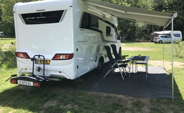 Hobby on tour – For rent for the big adventure