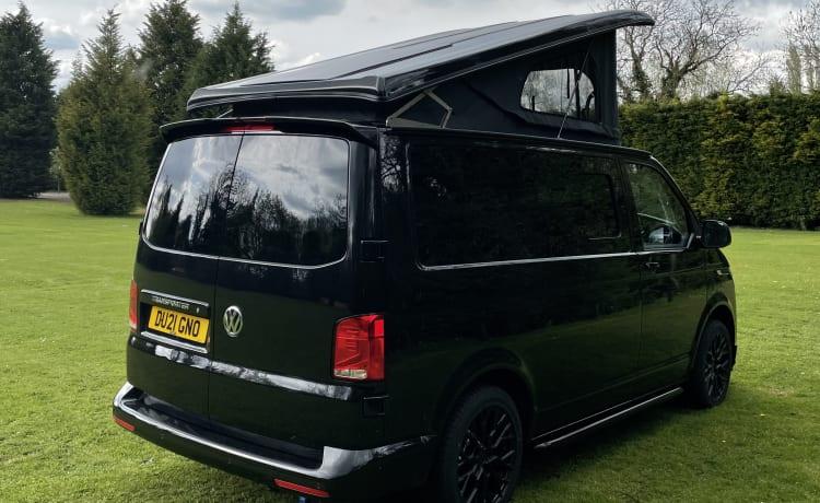 GINO – 2021 VW Transporter T6.1, 150bhp DSG Auto 4 Berth Campervan