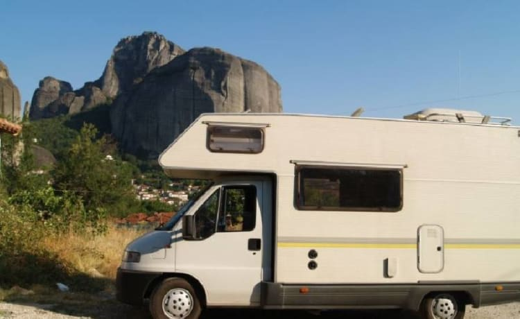 Campervan hire for families or couples