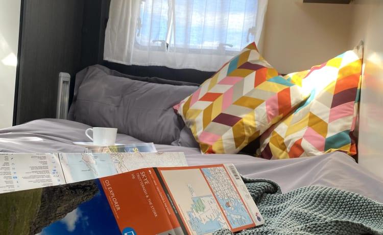 Davina – 2021 Zefiro 665, 4 slaapplaatsen