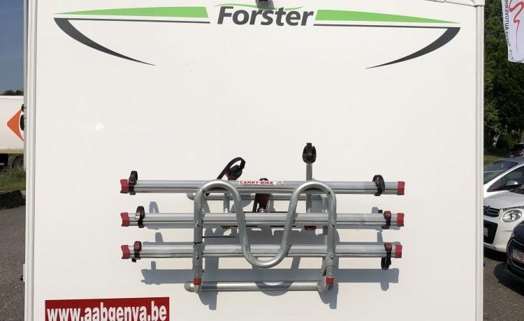 4- persoons halfintegraal Forster