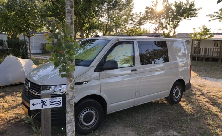 Volkswagen Transporter cabrio dak