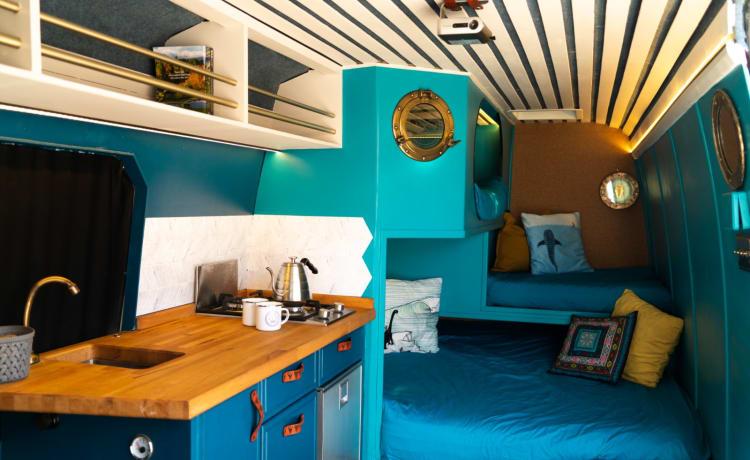 Meg – MEGALODON - 6 person Adventure Campervan