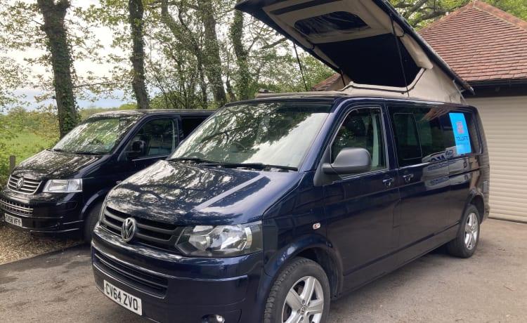 Versatile 4 berth VW Campervan