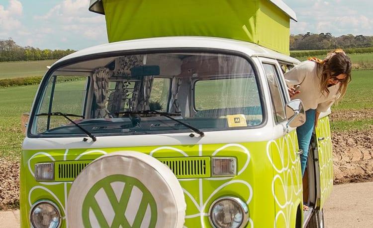 Orla de Vintage VW Camper