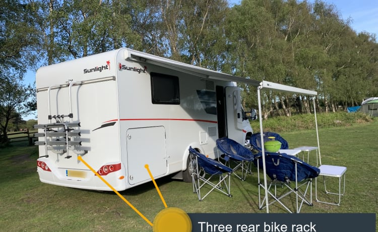 Sunlight Family luxe 4-persoons camper