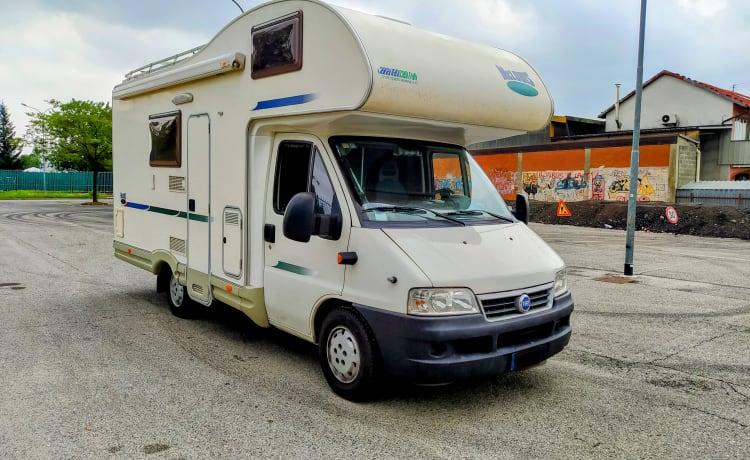 zMc – Attic Camper 6 slaapt en reist