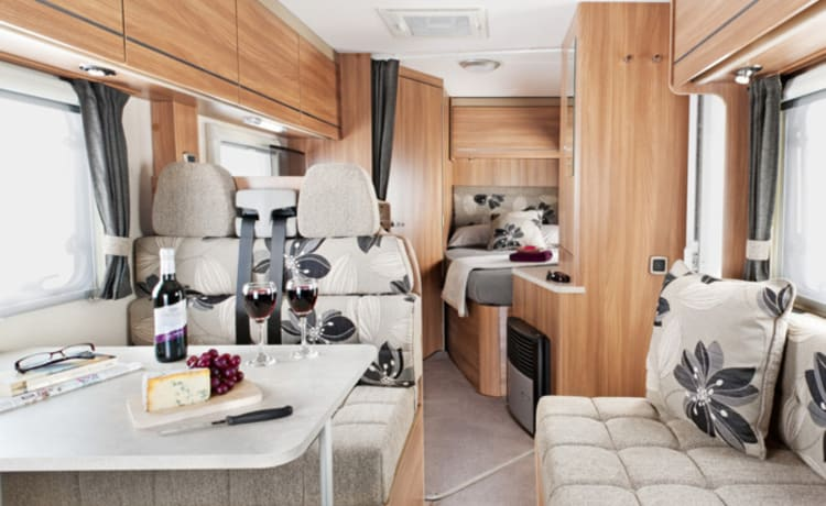 Luxury 4 Berth Motorhome in the South West