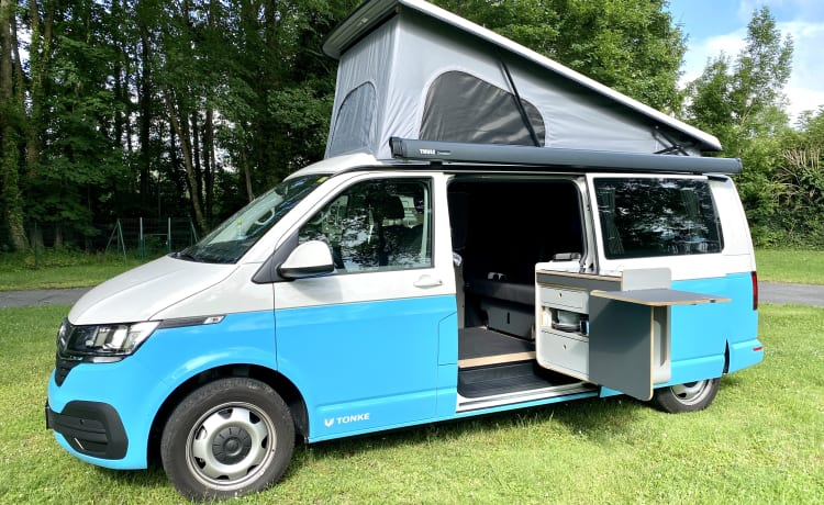 De beste en mooiste Tonke XL (2021) VW camper van Nederland