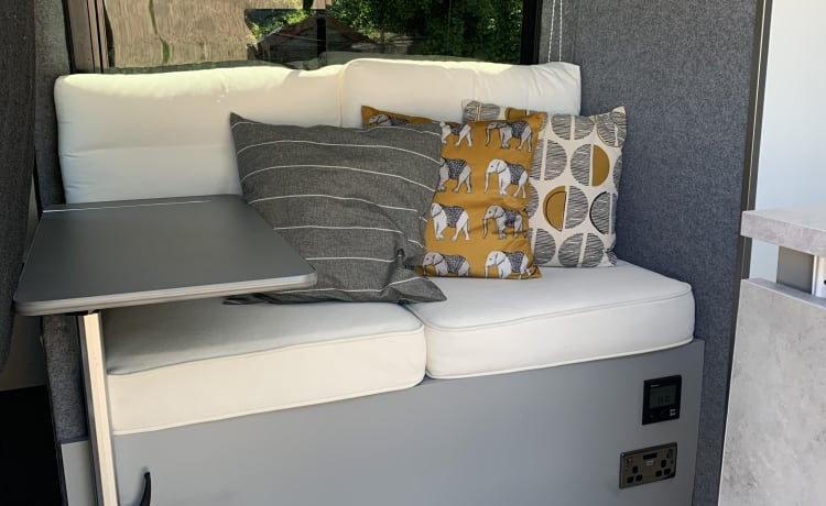 Vanabelle – Comfortable, all weather, self contained pad