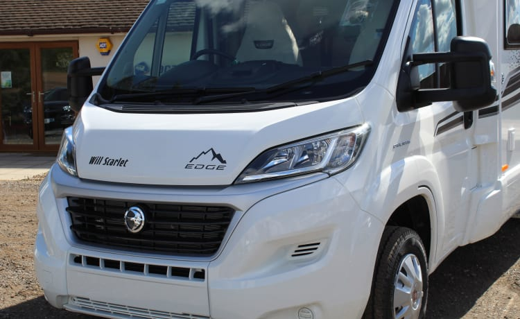 Will Scarlett – Our Luxury 2021 4 berth, fixed bed motorhome