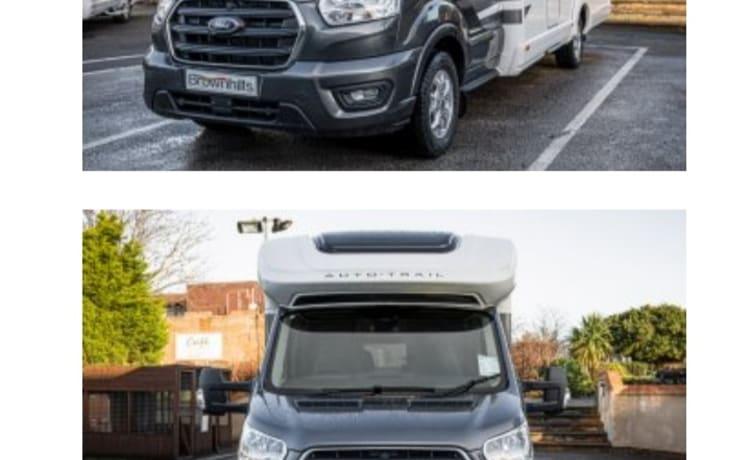 Ford Autotrail – Fantastische Ford Autotrail F Line F70 2021, 4 slaapplaatsen, 4 veiligheidsgordels