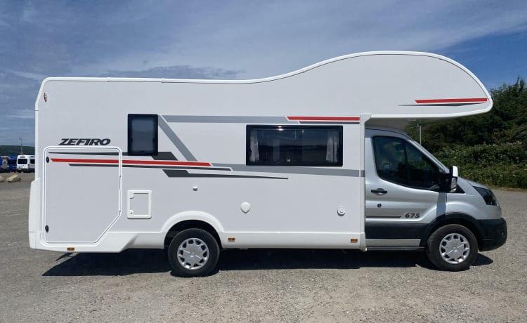 2021 Rollerteam Zefiro 675 Auto