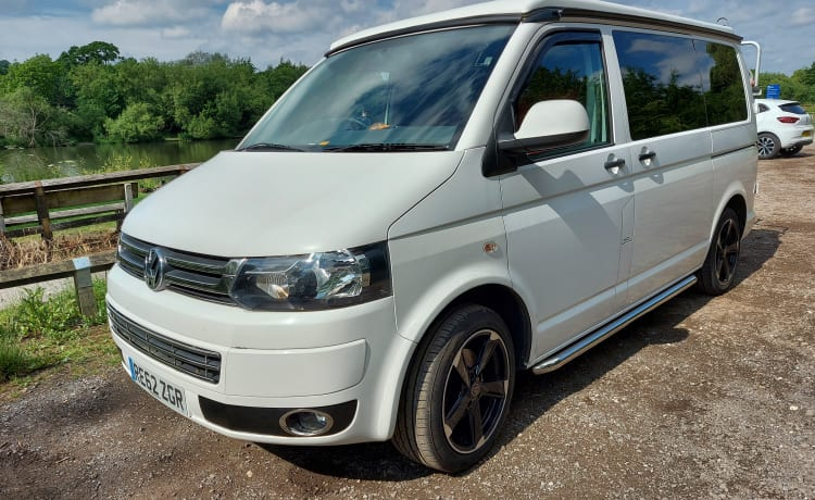 ROXY Onze familie 4 persoons VW Transporter