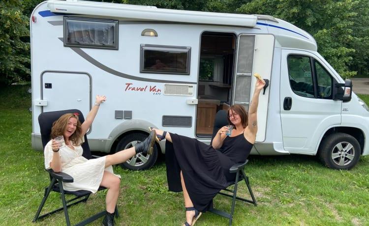 Onze prachtige camper is te huur